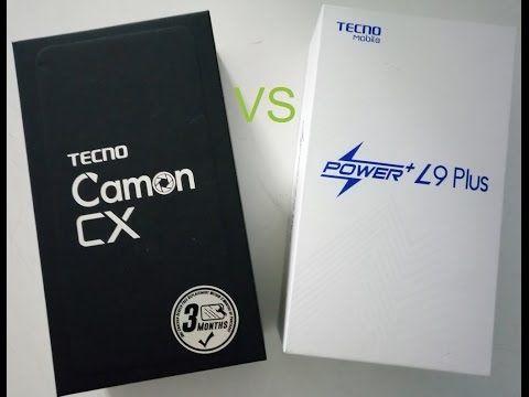 Camon Cx vs L9 Plus de  TECNO Mobile - speed test