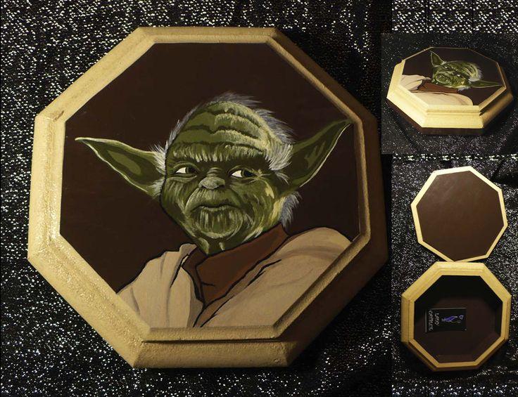 Caja Yoda 18x18 cm.