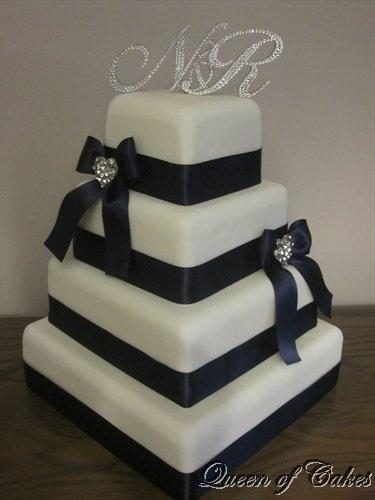 The Glamour wedding cake