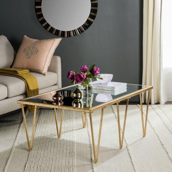 Die besten 25+ Gold glass coffee table Ideen auf Pinterest Gold - couchtisch aus glas ideen interieur