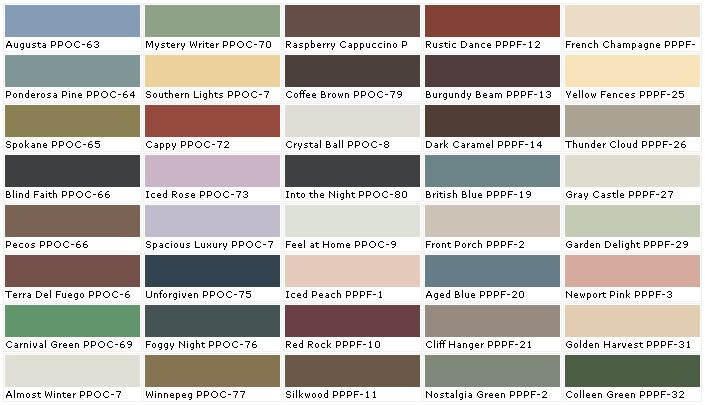 Why behr exterior paint colors home design pinterest for Color charts for painting walls