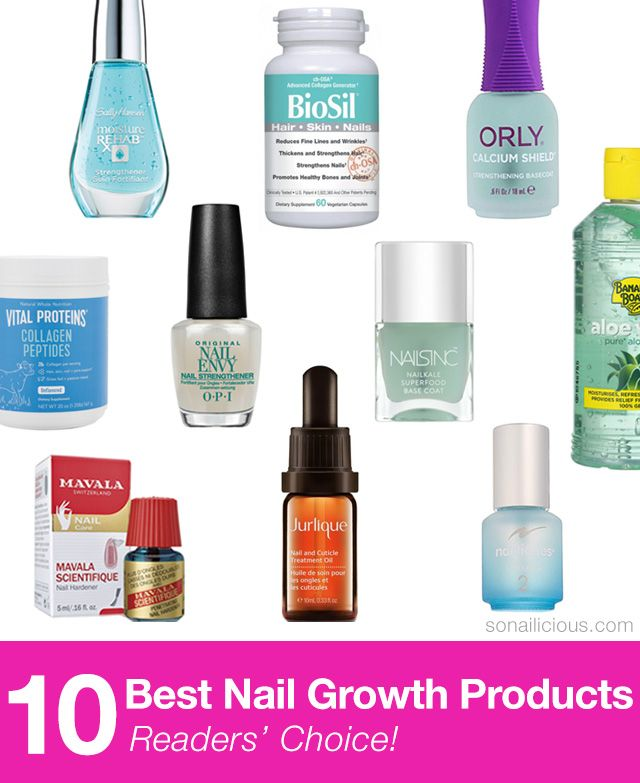 10 Best Nail Growth Products: Reader\'s Choice | MS | Nail growth ...
