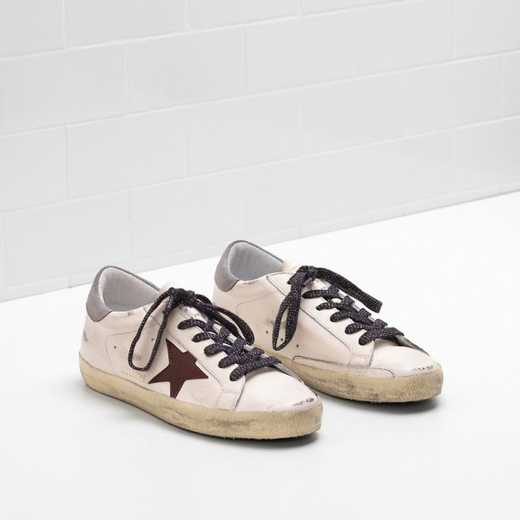 Golden Goose Super Star Coffee Star in leather White Men - Golden Goose / GGDB #sneakers #women #fashion #shoes #goldengoose #lifestyle #gifts