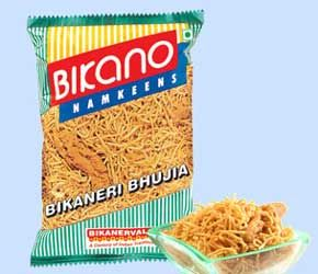 Bikaneri Bhujiya from Bikanervala Sweets, Delhi is the most popular namkeen. BIKANO brings you the authentic taste of Rajasthan from the treasure of their traditional recipes to give you the age- old flavour. Munch this spicy treat any- time, anywhere – at teatime or with breakfast, lunch or dinner. Order online bhujiya @ http://www.mithai4all.com/product/Bikano-Sweets,-New-Delhi/New-Delhi/Bikaneri-Bhujiya/924.aspx