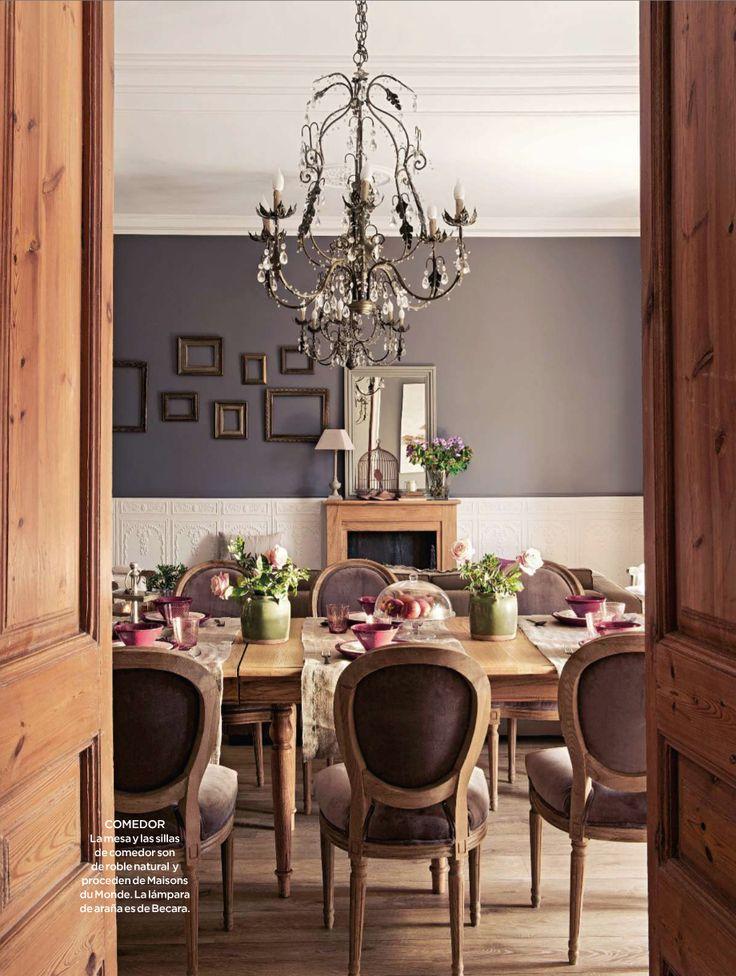 comedor de la revista El Mueble noviembre 2013: Interior Design, Dining Rooms, Interiors, Wall Color, Dinning Room, Room Ideas, South Shore Decorating