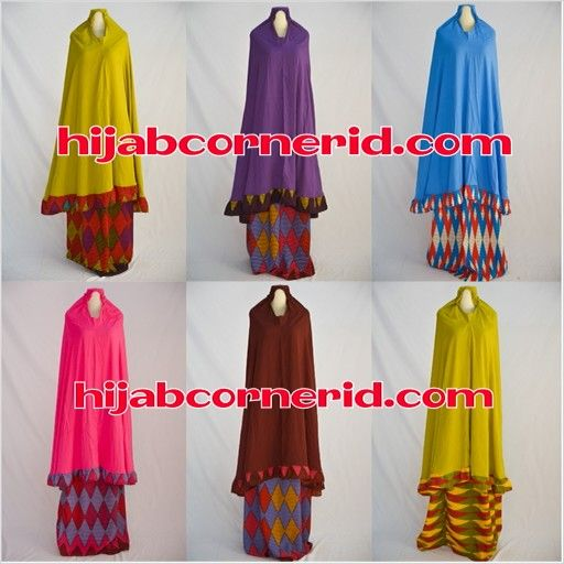 Prayer set with rang rang pattern so classic and etnic, grab it only at www.hijabcornerid.com