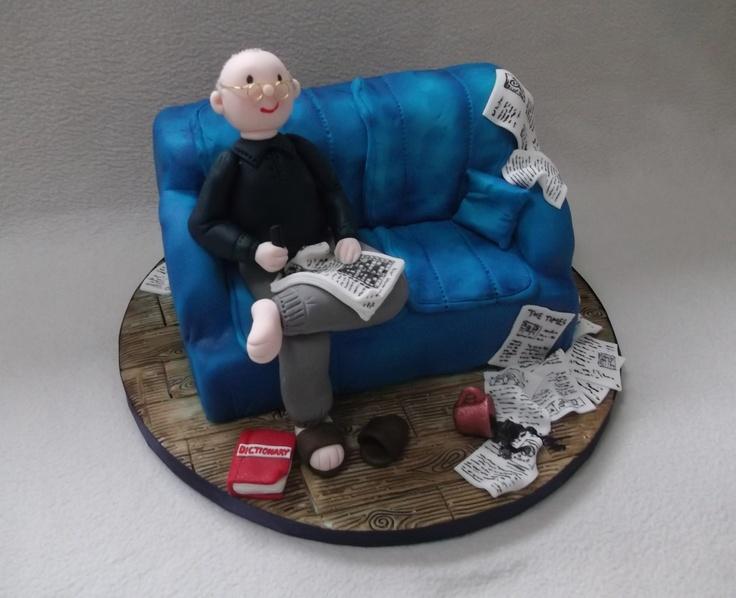 Birthday Cakes Doing A Lazy Crossword Puro Arte