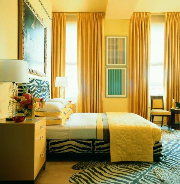 Western Bedroom Paint Colors Yellow Bedroom Colour Schemes Houzz Bedrooms For Girls Bedroom Decor Grey And White: Jamie Drake's Tips For Painting With Bold Color