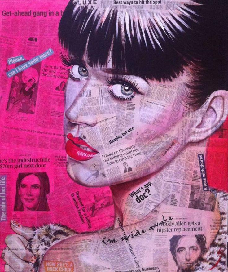 "Saatchi Art Artist Conrad Crispin Jones; Painting, ""Naughty But Nice"" #art"