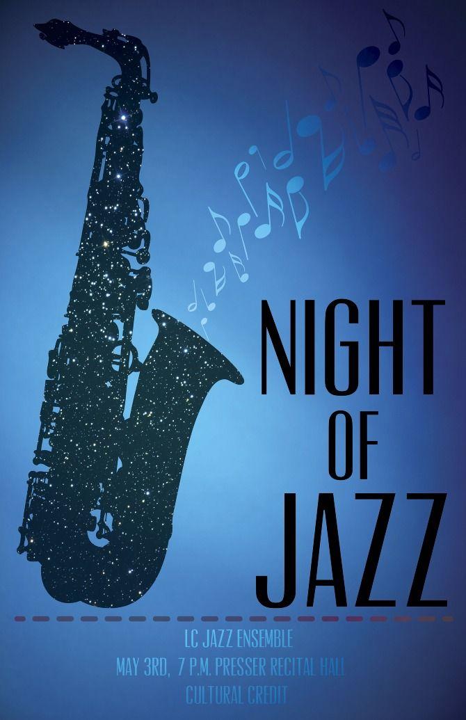 Jazz Concert Poster - Alex Felter