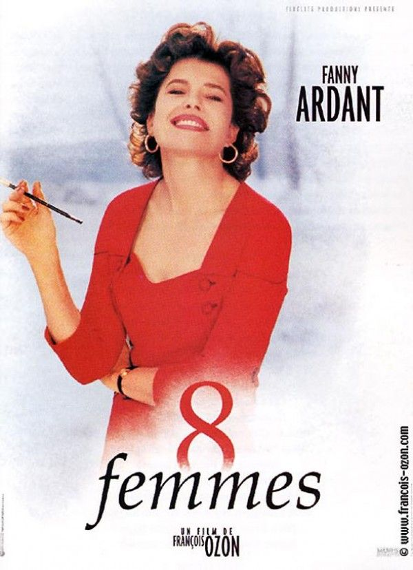 Affiche du film 8 femmes