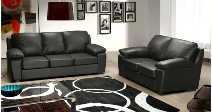 cheap leather sofa sets toronto tables target best 25+ black sofas ideas on pinterest | ...