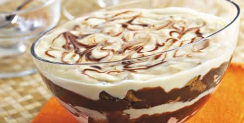 Receita de Pavê de cupuaçu co Chocolate (Brazilian Food)