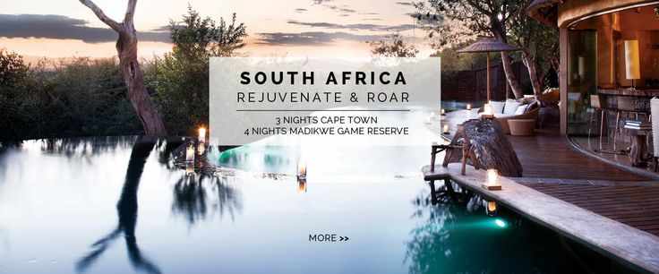 South Africa, 3 Nights Cape Town, 4 Nights Madikwe Game Reserve