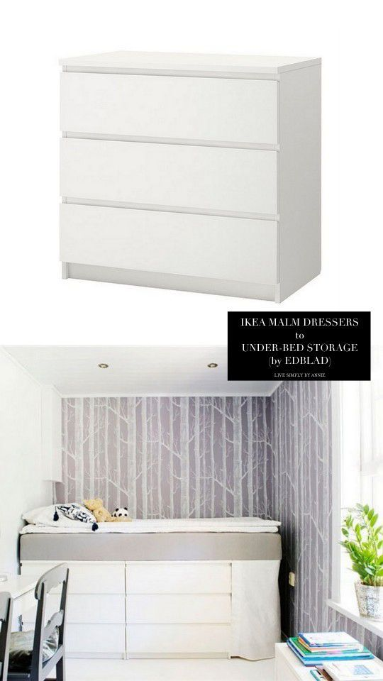ber ideen zu malm bett auf pinterest. Black Bedroom Furniture Sets. Home Design Ideas