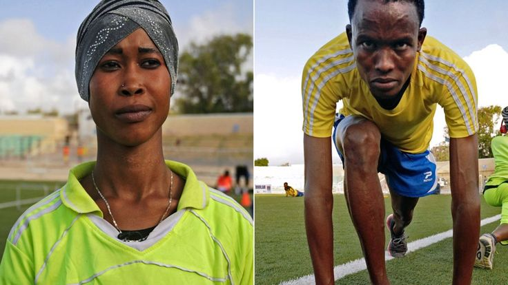 Somalia - the nation that produced double Olympic champion Mo Farah - has sent only two athletes to the2016 OlympicGames in Rio.