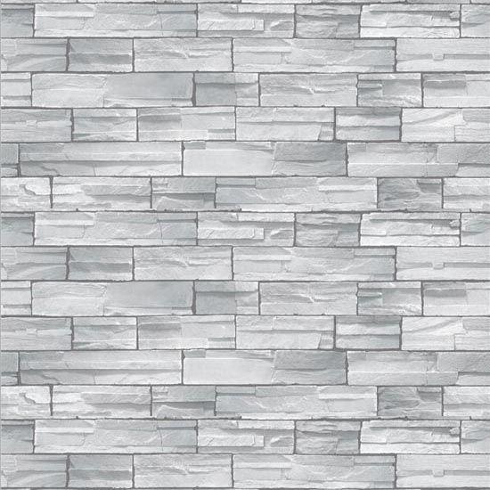 Self Adhesive Wallpaper Wallpaper Brick Gray Stone Brick