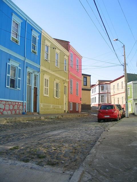 Cerro Alegre, Valparaíso, Chile