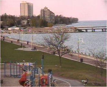My favorite park--Spencer Smith Park in Burlington, Ontario