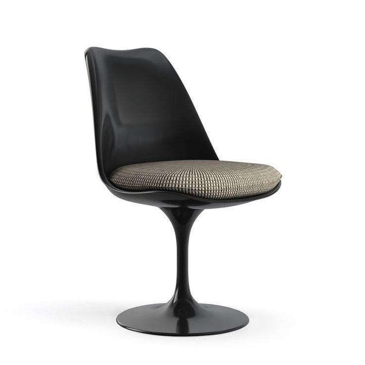 Knoll saarinen tulip chair black base in 2020 tulip