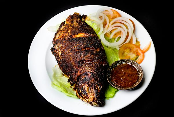 OVEN BAKED TILAPIA FISH - CONTEMPORARY AFRICAN FOOD