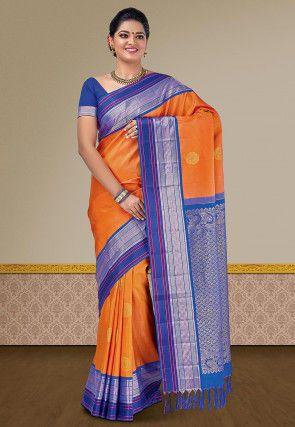 9500bbd9cc5335 Page 8 | Kanchipuram Sarees: Buy Designer Kanchipuram Silk Saree Online | Utsav  Fashion