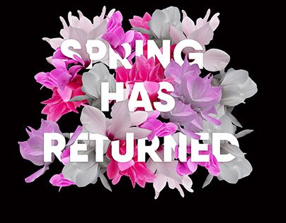 "Check out new work on my @Behance portfolio: ""Spring has returned"" http://be.net/gallery/36571591/Spring-has-returned"