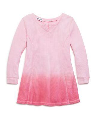 Splendid Girls' Dip-Dyed Thermal Dress - Sizes 2-6X   Bloomingdale's