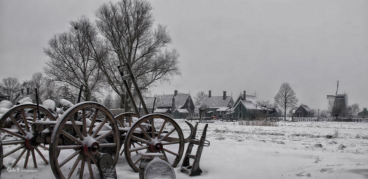 winter Schans | fotoshoot op de #zaanseschans