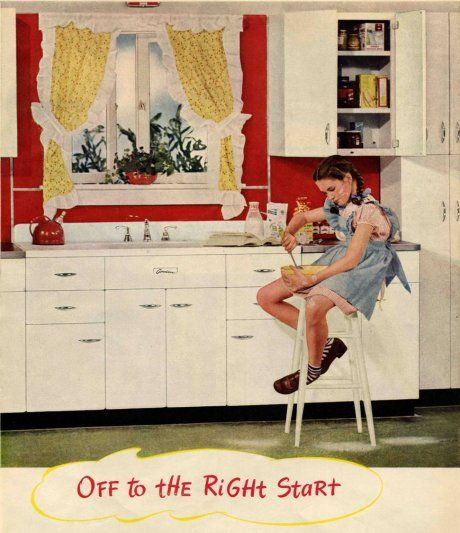 Retro renovation...Great blog for learning about 30s, 40s, 50s style and culture