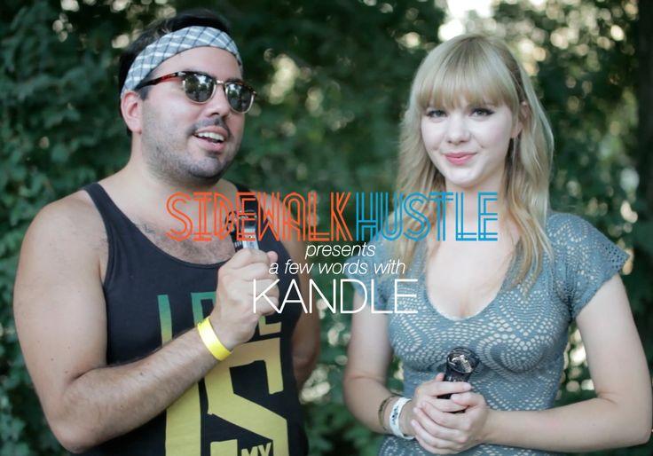 Sidewalk Hustle TV: Kandle at Osheaga 2012