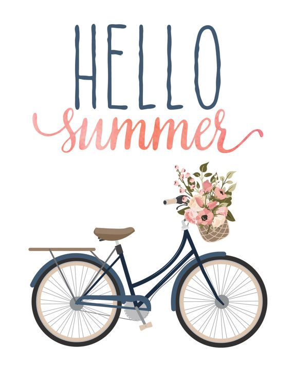 Hello Summer. :-) When you purchase this listing, youll receive a high quality J... Hello Summer. :-) When you purchase this listing, youll receive a high quality JPEG and PDF 300 dpi digital files instantly that will produce an
