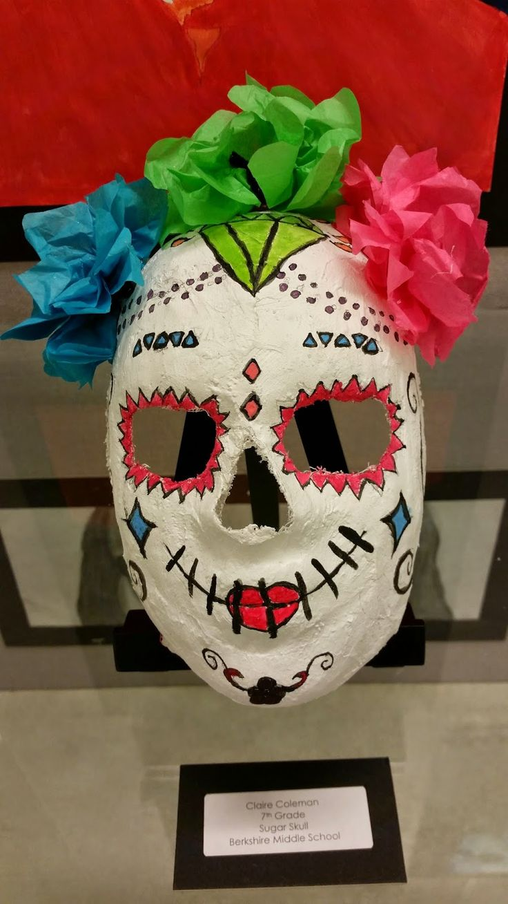 Art with Ms. Lloyd: 7th Grade 3-D: Sugar Skulls