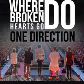 Where Do Broken Hearts Go? #1D