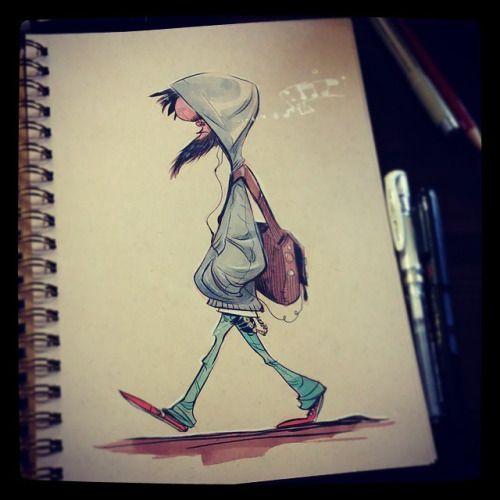 Brushes For Character Design : Best line art images on pinterest character design