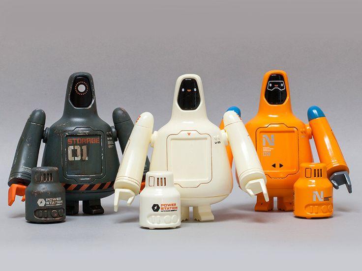 Freeman Robotics U-23 #character #vinyl #toy