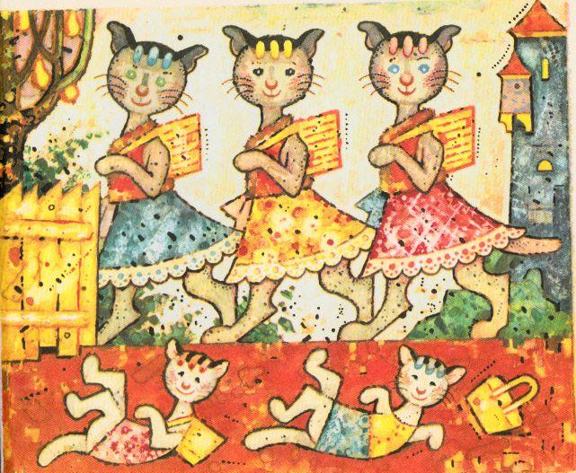 Varila myšička kašičku, ilustrácie Ľudovít Fulla