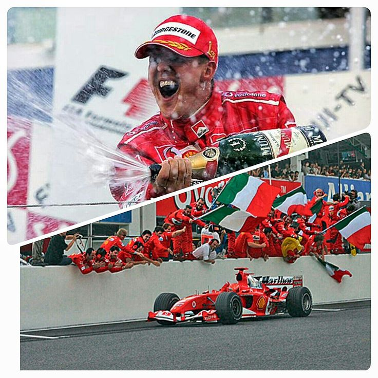 On this day in F1, October 10th 2004-  Michael Schumacher painted the Suzuka Circuit Ferrari red when he powered his Ferrari F2004 to pole and won the Japanese Grand Prix on the same day. Typhoon Ma-on had hit the circuit on Saturday, meaning qualifying was postponed until the morning of race day. The race itself was relatively straightforward, with Schumacher leading his brother Ralf throughout but never coming under threat in dry conditions. #OnThisDay #Suzuka #RedSeason