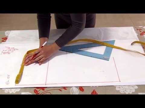 Metodo Sitam:taglio e confezione gonna dritta - YouTube