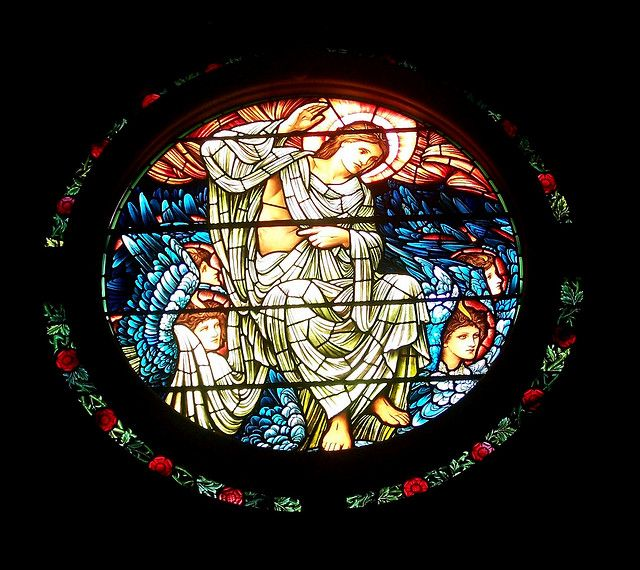 Sir Edward #Burne-Jones, Dies Domini window at Christ Church Cathedral, Newcastle NSW