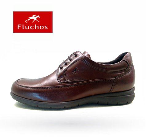 Zapatos Fluchos modelo 8498 marrón http://www.milpies.es/zapatos-fluchos-8498-marron.html