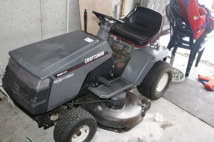 Craftsman Riding Lawn Mower found on MaxSold Adolphustown (near Napanee) Downsizing Auction.
