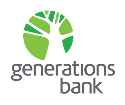 Generations Bank Logo | Rochester Marketing Agency | Dixon Schwabl
