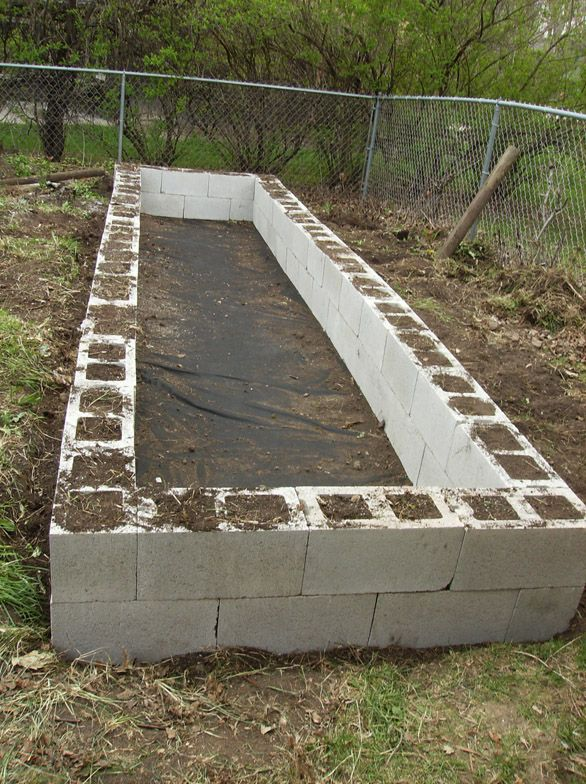 Brilliant idea to start raised beds or a contained veggie garden.  From RETRO RANCH REVAMP