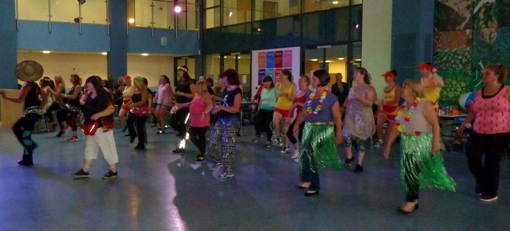 Summer Zumba party fun - Friday 14th August at Writhlington School