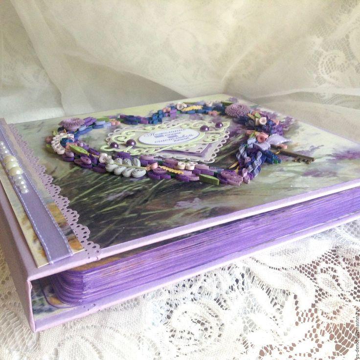 Купить Гостевая книга пожеланий на свадьбу в подарочной коробочке. - книга пожеланий, свадебная книга