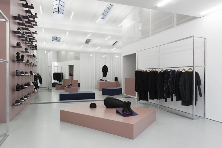 No. 74 Adidas store renewal by Haw-Lin Services Berlin  Germany