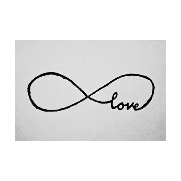 So want this!!!  infinity tattoo | Tumblr found on Polyvore