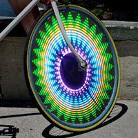 Горячая распродажа 14 из светодиодов мотоциклов велоспорт MTB дорожный велосипед колеса сигнал шины шин колес спиц 40 шаблонов проектирования с горы