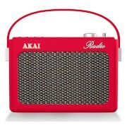 Vintage portable DAB radio In a lovely red!  #dabradio #red #vintage #retro